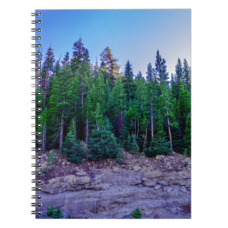 Yosemite Valley Forest & Sky Notebook