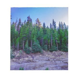 Yosemite Valley Forest & Sky Notepad