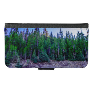 Yosemite Valley Forest & Sky Samsung Galaxy S6 Wallet Case