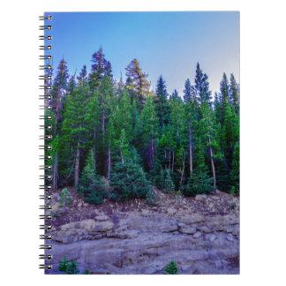 Yosemite Valley Forest & Sky Spiral Notebook
