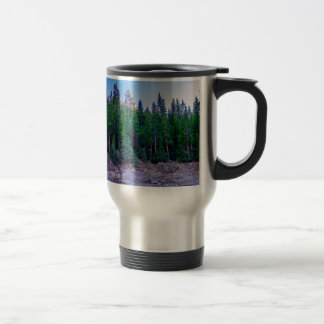 Yosemite Valley Forest & Sky Travel Mug