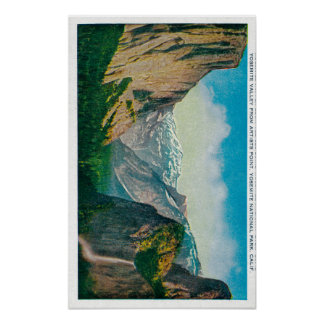 Yosemite Valley from Artist's Point Posters