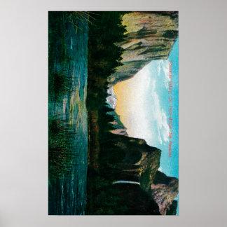 Yosemite Valley from Bridal Veil Meadow Print