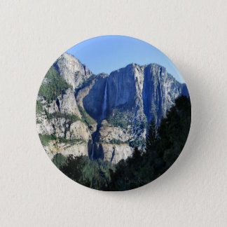 Yosemite Valley from Four Mile Trail - Yosemite 2 Inch Round Button