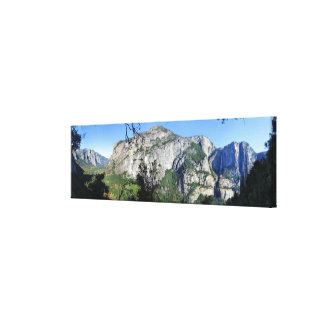 Yosemite Valley from Four Mile Trail - Yosemite Canvas Print