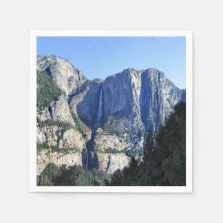 Yosemite Valley from Four Mile Trail - Yosemite Disposable Napkin