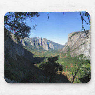 Yosemite Valley from Four Mile Trail - Yosemite Mouse Pad