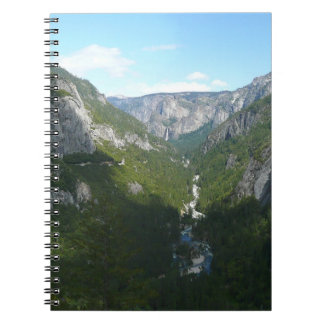 Yosemite Valley in Yosemite National Park Notebook