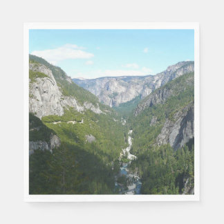 Yosemite Valley in Yosemite National Park Paper Napkins