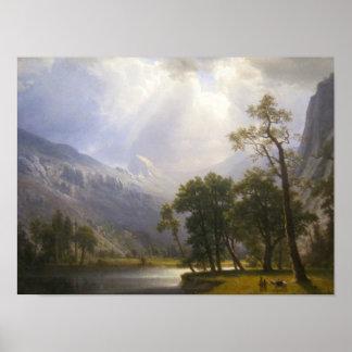 Yosemite Valley Matte Poster