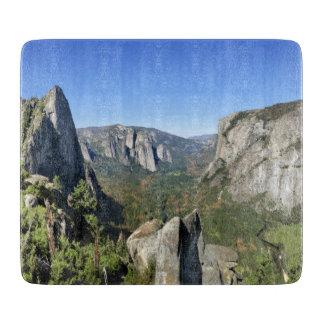 Yosemite Valley Panorama 2 - Yosemite Cutting Board