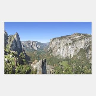 Yosemite Valley Panorama 2 - Yosemite Sticker