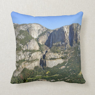 Yosemite Valley Panorama 3 - Yosemite Throw Pillow