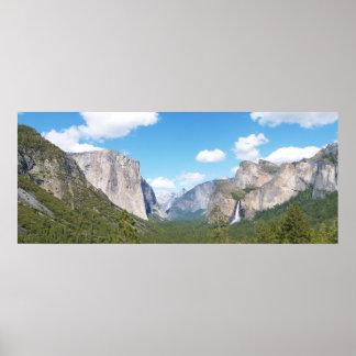Yosemite Valley View Poster