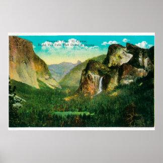 Yosemite Valley ViewYosemite, CA Poster