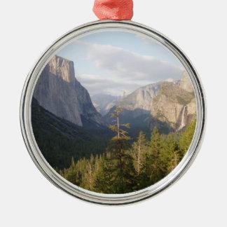 Yosemite Vista Deluxe Metal Ornament
