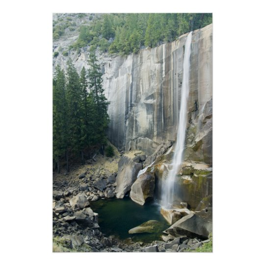 Yosemite Waterfall Poster