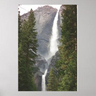 Yosemite Waterfall Print