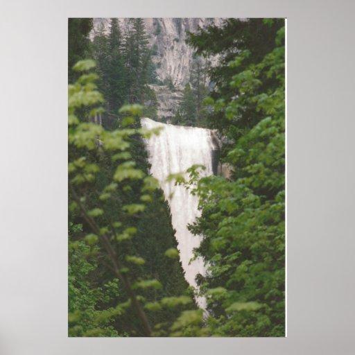 Yosemite Waterfall Posters