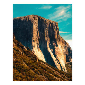 Yosemitie Mountain National Park Letterhead