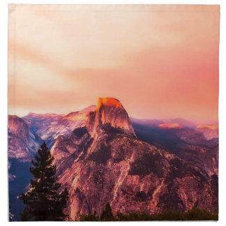 Yosemitie National Park Sundown Napkin