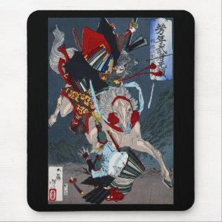 Yoshitoshi, '芳 year warrior mu flat military mouse pad