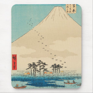 Yoshiwara, Japan: Vintage Ukiyo-e Woodblock Print Mouse Pad