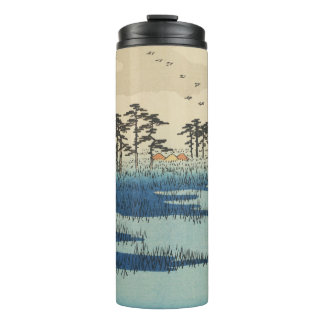 Yoshiwara, Japan: Vintage Ukiyo-e Woodblock Print Thermal Tumbler