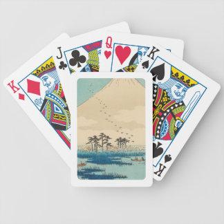 Yoshiwara, Japan: Vintage Woodblock Print Bicycle Playing Cards