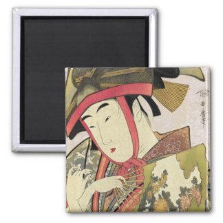 Yoshiwara suzume, Utamaro Magnet