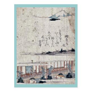 Yoshiwara Ukiyoe Postcard