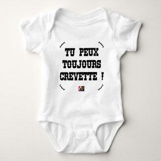 YOU ALWAYS CAN SHRIMP! - Word games Baby Bodysuit