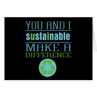 You and I Sustainable Greeting Cards