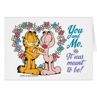 You and Me, It was meant to be! Card