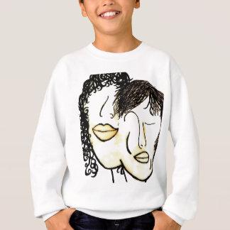 You and Me Sepia Tones Sweatshirt