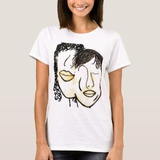 You and Me Sepia Tones T-Shirt