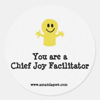 You are a Chief Joy Facilitator Sticker