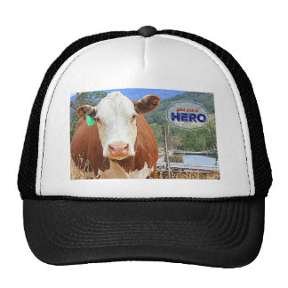 You are a Hero! Cow Trucker Hat