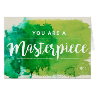 You are a Masterpiece Notecard w. Envelope