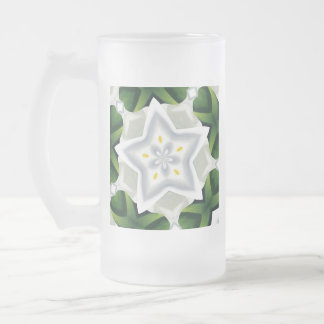 You Are A Star Frosted Glass Beer Mug