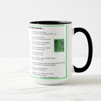 You are a Warrior, Lyme Disease Awareness Mug