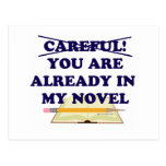 You are already in my novel! postcard