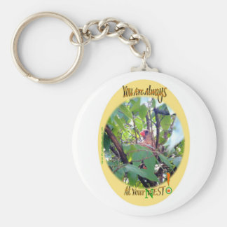 You Are Always AT Your Best (Nest)! Keychain