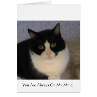 You Are Always On My Mind Card