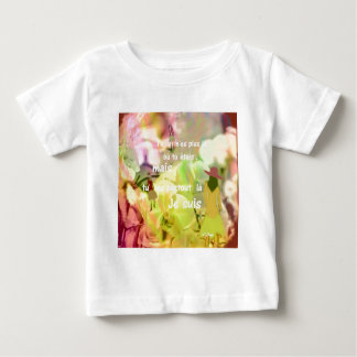 You are always with me even you are not. baby T-Shirt