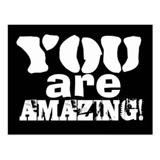 You are Amazing Inspirational Postcard