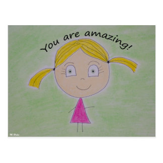 You are amazing! postcard