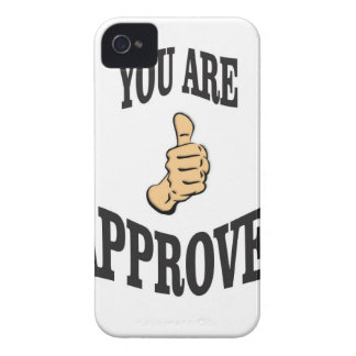you are approved thumb iPhone 4 cases