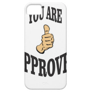you are approved thumb iPhone 5 case