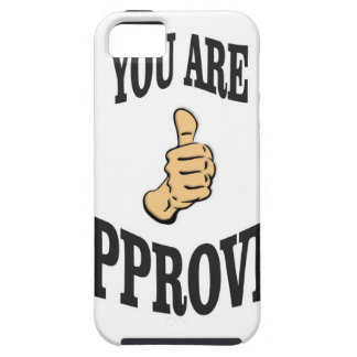 you are approved thumb iPhone 5 cover